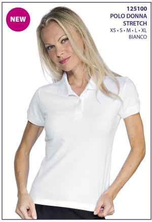 polo donna strecht is 125100 bianco  1  6 Aprile 2020